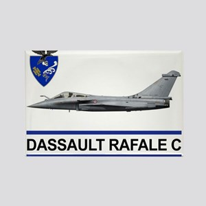 rafale_dassault_libya Rectangle Magnet