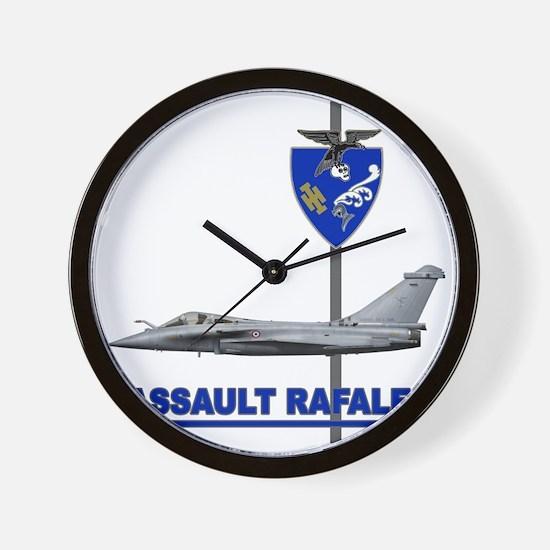 LIBYA_FRANCE_RAFALE_DASSAULT Wall Clock