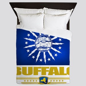 Buffalo (Flag 10) Queen Duvet