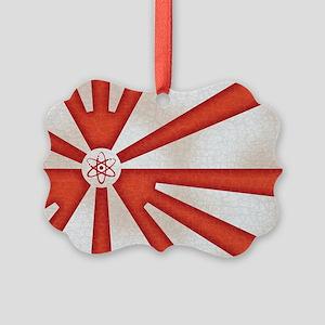 Japan-rad-flag2-OV Picture Ornament