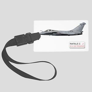 077_PROVENCE_RAFALE_C_FRANCE Large Luggage Tag