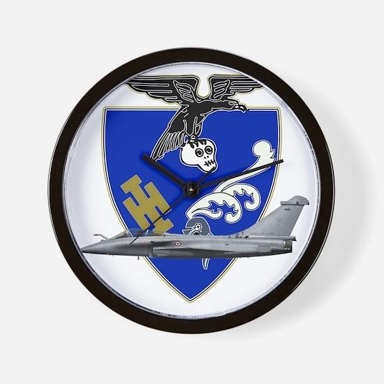 Escadron de chasse_1.7_a_provence_rafal Wall Clock