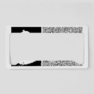SHAKESPEARE_SHALL_I License Plate Holder