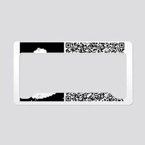 SHAKESPEARE_TO_BE License Plate Holder
