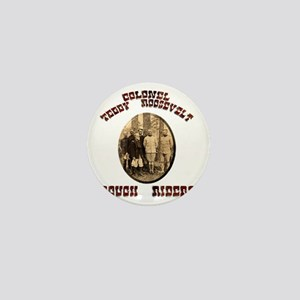 roughriders Mini Button