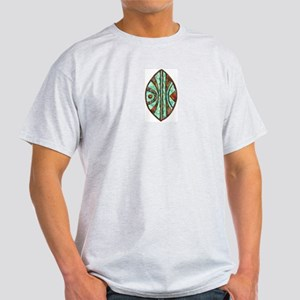 Kenya Warrior Shield 2 Ash Grey T-Shirt