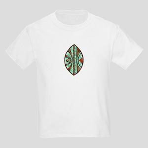 Kenya Warrior Shield 2 Kids T-Shirt