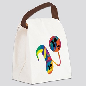 CIabstract Canvas Lunch Bag