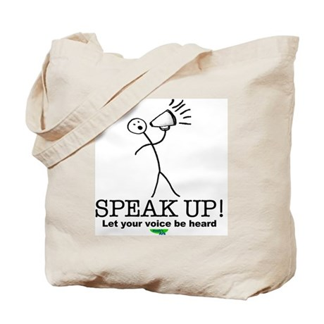 Voice Heard Tote Bag