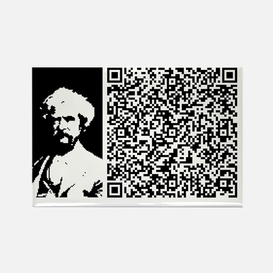 TWAIN_DRAG_YOUR_THOUGHTS Rectangle Magnet