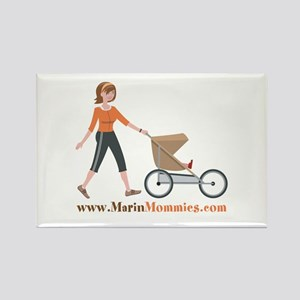 Marin Mommies Rectangle Magnet
