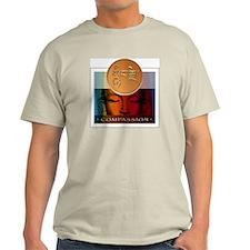 Compassion Ash Grey T-Shirt