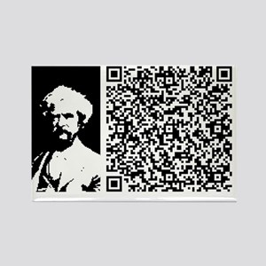 TWAIN_PATRIOTISM Rectangle Magnet