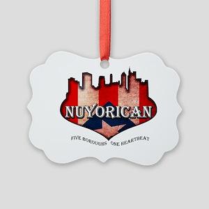 nuyorican Picture Ornament