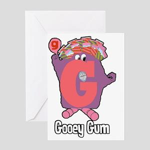 Gooey Gum Greeting Card