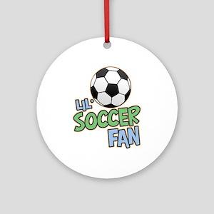 Lil' Soccer Fan Ornament (Round)