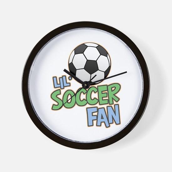 Lil' Soccer Fan Wall Clock