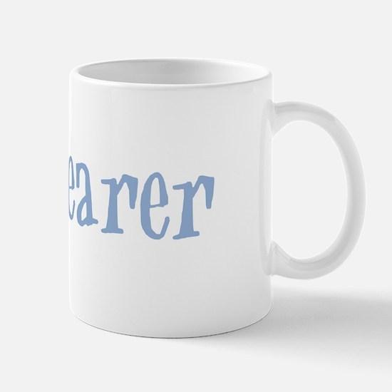 Ring Bearer - Baby Blue Retro Mug