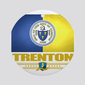 Trenton (Flag 10) Round Ornament