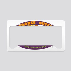 survivor pet de kat jazz fest License Plate Holder