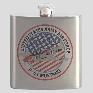 MUSTANG USAAF Flask