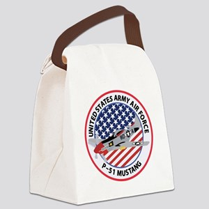MUSTANG USAAF Canvas Lunch Bag