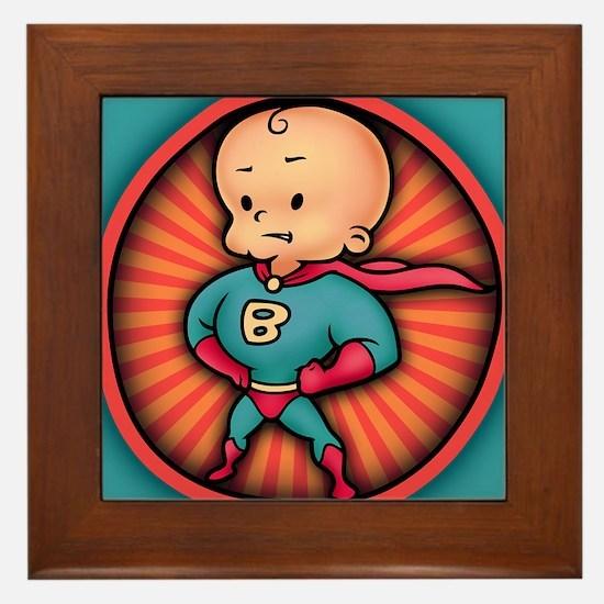 super-baby-CRD Framed Tile
