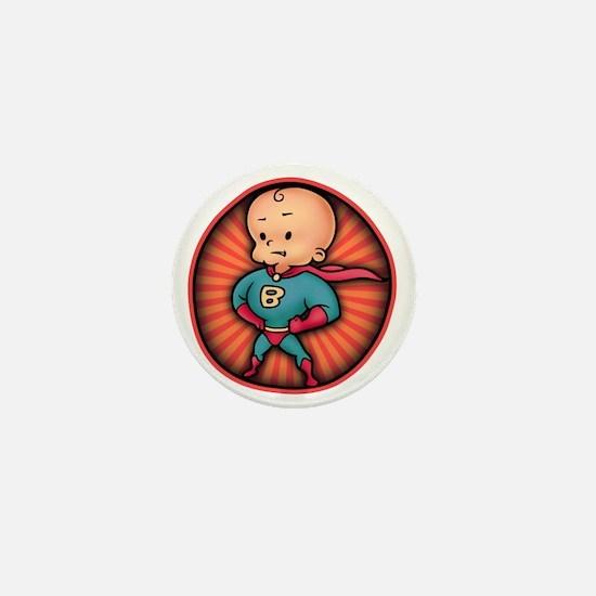 super-baby-T Mini Button