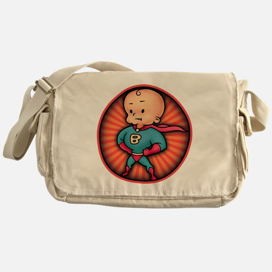 super-baby-T Messenger Bag