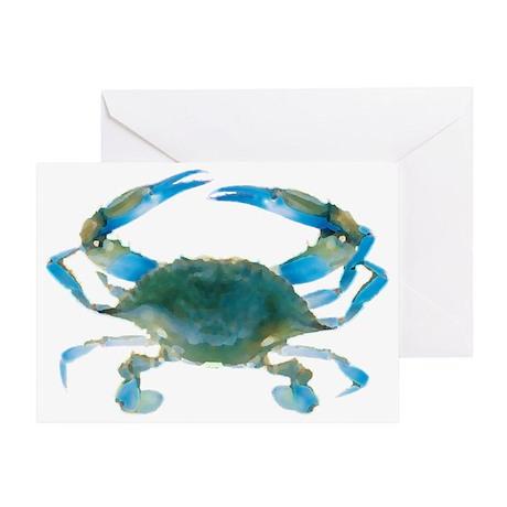 bluecrab Greeting Card