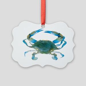 bluecrab Picture Ornament