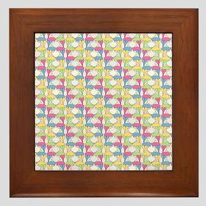 Aplin Bunnies Framed Tile