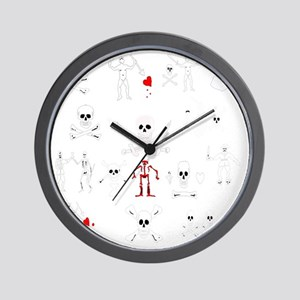 Pirate Montage Wall Clock