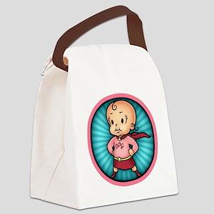 super-bbg-T Canvas Lunch Bag