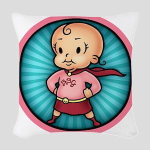 super-bbg-T Woven Throw Pillow