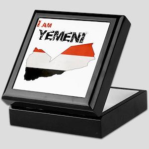 I am Yemeni Keepsake Box