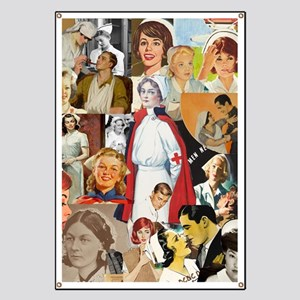 nurse collage poster Banner