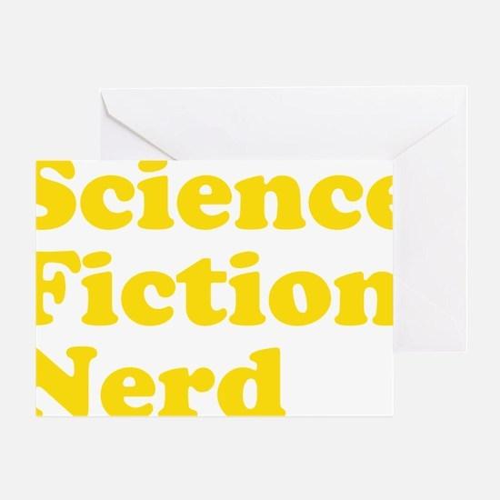 sciencefictionnerdyellow Greeting Card