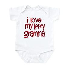 I love my lefty gramma Infant Bodysuit
