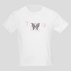 Trophy Wife - Butterfly Kids T-Shirt