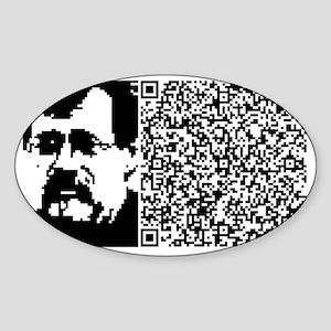 MCKENNA_PLANTS_INVENT_ANIM Sticker (Oval)