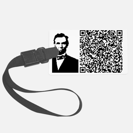 LINCOLN_VICES_VIRTUE Luggage Tag