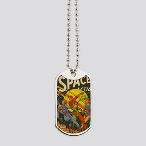 spaceactioncover Dog Tags
