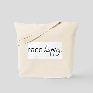 Race Happy Tote Bag