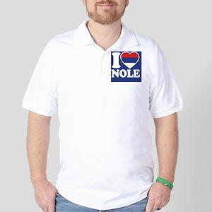 Nole Button1 Golf Shirt