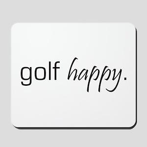Golf Happy Mousepad