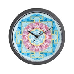 Venus Yantra Wall Clock
