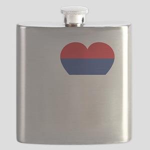 Nole Serbia -dk Flask
