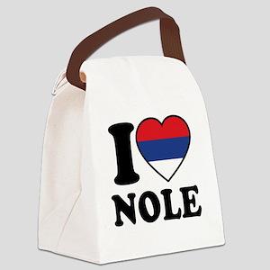 Nole Serbia Canvas Lunch Bag