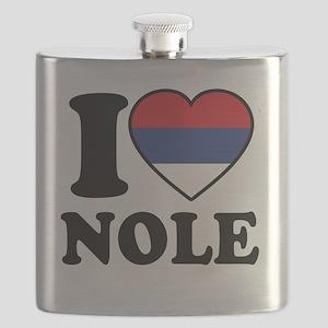 Nole Serbia Flask